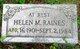 Helen M Raines