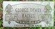 George Dewey Raines