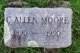 Profile photo:  Callie Allen Moore