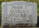 Profile photo:  Frank V. Duvelius