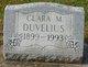Profile photo:  Clara M. Duvelius