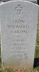 Profile photo:  Leon Bernard Aaron