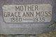 Grace Ann <I>Hatch</I> Moss