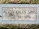 Profile photo:  Alton Lyles Sims