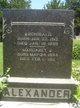 Margaret Jane <I>Hufford</I> Alexander