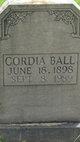 Profile photo:  Cordia Ball