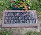 """Profile photo:  Claude E. """"Happy"""" Creason"""
