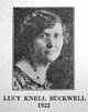 """Lucille """"Lucy"""" <I>Knell</I> Buckwell"""