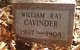 William Ray Cavinder