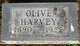 Olive R <I>Little</I> Harvey