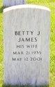 Profile photo:  Betty Jean James