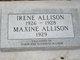Profile photo:  Irene Allison