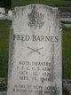 Profile photo:  Fred Barnes