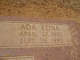 Profile photo:  Ada Edna Durham