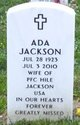 Profile photo:  Ada Jackson