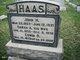 Sarah A. <I>Straub</I> Haas