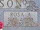 Rosa A <I>Cromer</I> Stevenson
