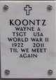 Wayne A Koontz