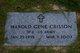 Harold Gene Crisson