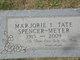 Marjorie Isabel <I>Tate</I> Meyer
