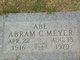 Abram C. Meyer