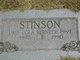 L. E. Stinson