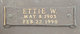 Ettie Bell <I>Whitehead</I> Wall