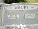 Ida Mary <I>Davis</I> Wolfe