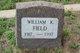 William K Field