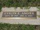 Profile photo:  Evelyn Elizabeth <I>McGill</I> Angier