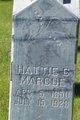 "Harriet ""Hattie"" <I>Cuppy</I> Marcoe"