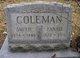 "Martha Francis ""Fannie"" <I>Harris</I> Coleman"