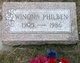 Margaret Winona <I>Burrington</I> Philben
