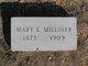 Mary Elizabeth (Mollie) <I>Jones</I> Milliner