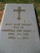 Profile photo:  Mary Jane <I>Wright</I> Selden