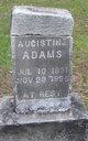 Profile photo:  Augistine Adams
