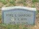 Pope L Sanford