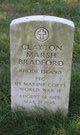 Profile photo:  Clayton Marsh Bradford