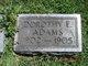 Dorothy E. Adams