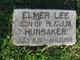 Elmer Lee Hunsaker