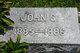 John Grover <I> </I> Miller