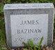Profile photo:  James Bazinaw