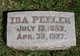 Profile photo:  Ida Josephine <I>Peeler</I> Wulfjen