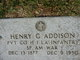 Henry G Addison