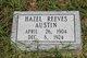 Profile photo:  Hazel <I>Reeves</I> Alston