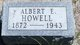 Profile photo:  Albert Eugene Howell