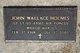 John Wallace Holmes