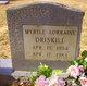 Profile photo:  Myrtle Lorraine Driskell