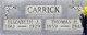 Elizabeth Jane <I>Clegg</I> Carrick