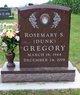 Rosemary S. <I>Dunk</I> Gregory